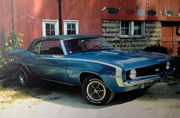 1969 Chevrolet Camaro restaoration